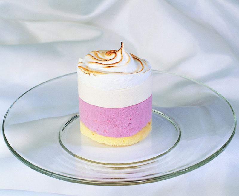 Baked Alaska Torte