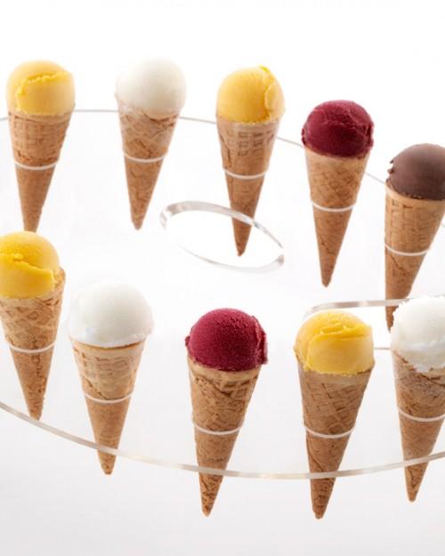 Mini Ice Cream Cone Painters Palette